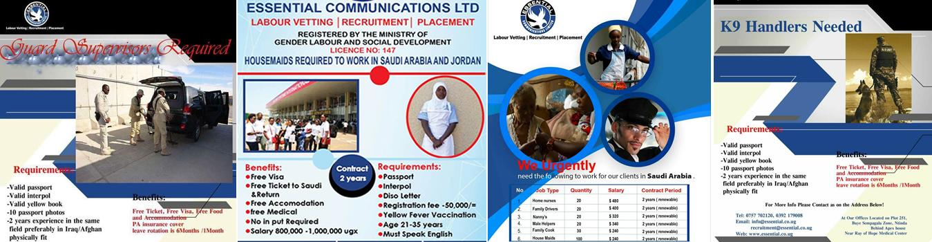 jobs in uganda